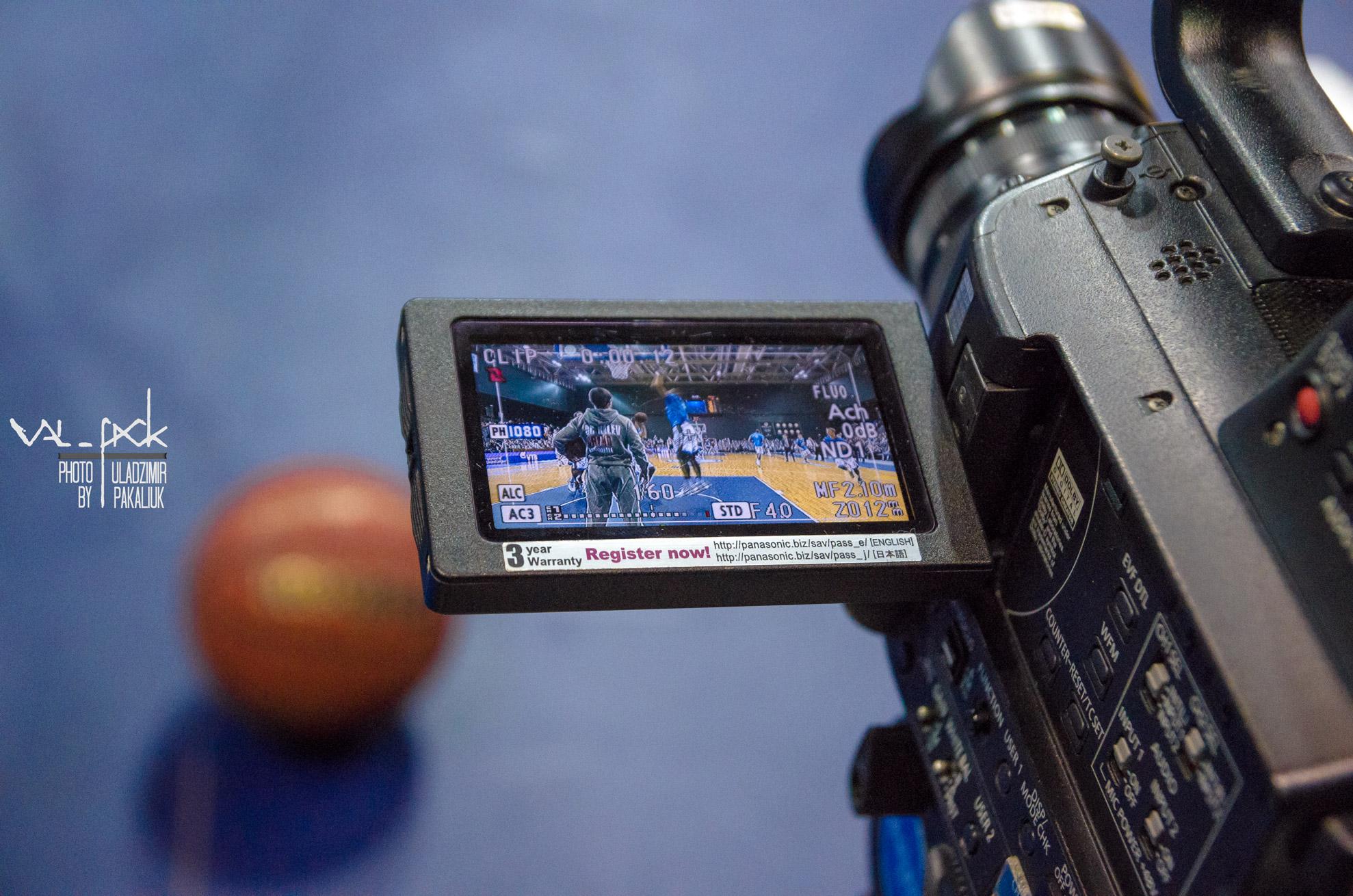 фотосъёмка баскетбольного матча в Минске